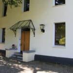 Eingang Goldschmiede Schmuckgarten in Stolberg bei Aachen
