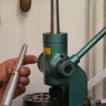 Trauringmaschine und Ringstock