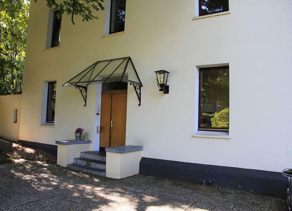 Schmuckgarten Eingangsbereich