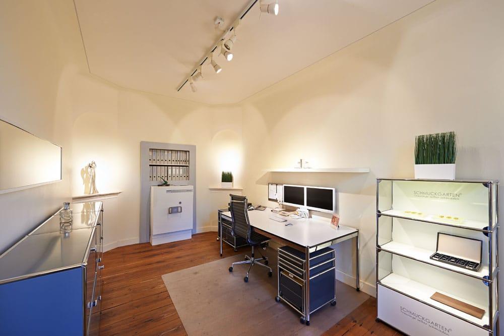 Spazio ufficio del giardino dei gioielli orafi