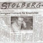 Stolberger Nachrichten Freitag 19. November 2004