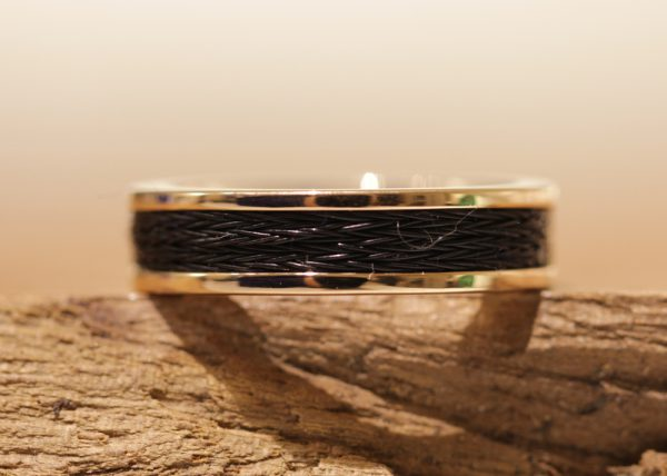 Horsehair Ring Black
