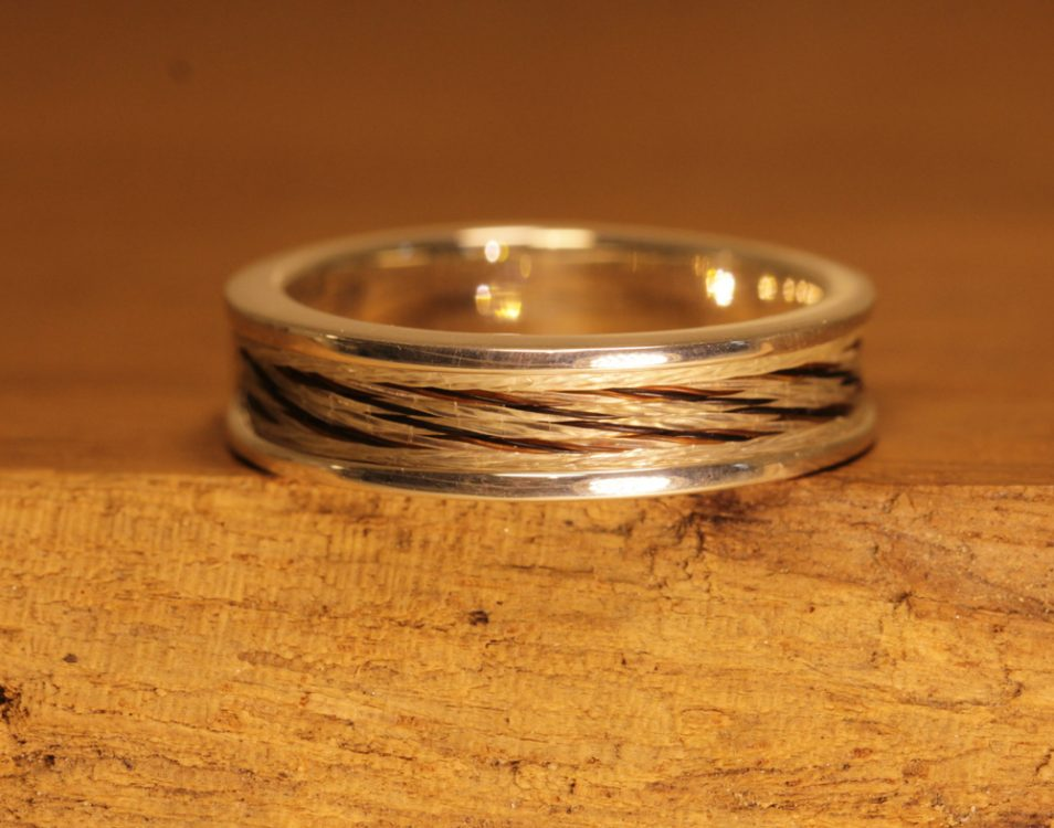 Horse hair jewelry 006