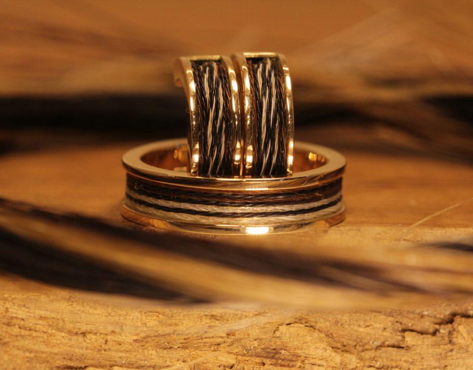 Horse hair jewelry 039
