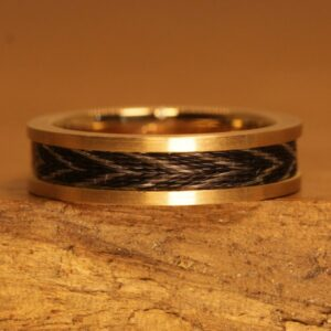 Horse hair jewelry 050