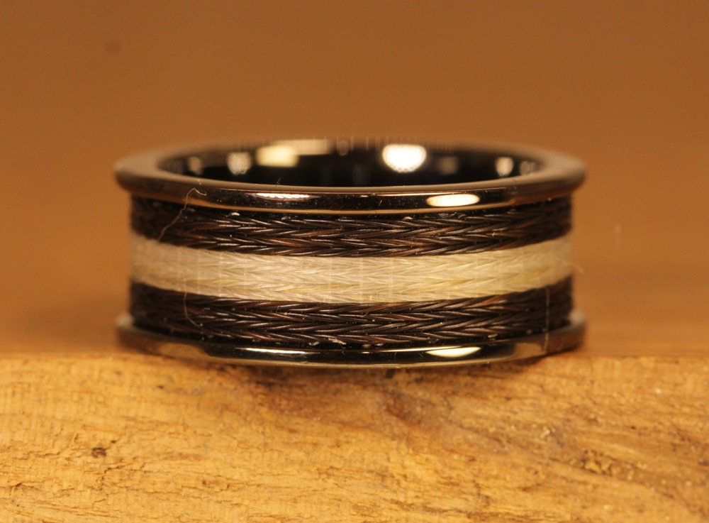 Horse hair jewelry 093