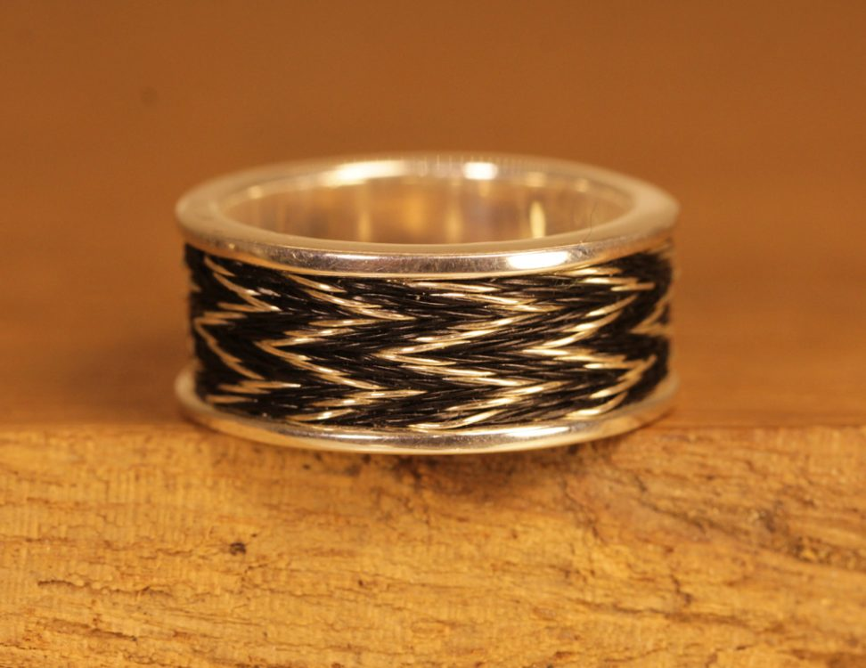 Horse hair jewelry 095