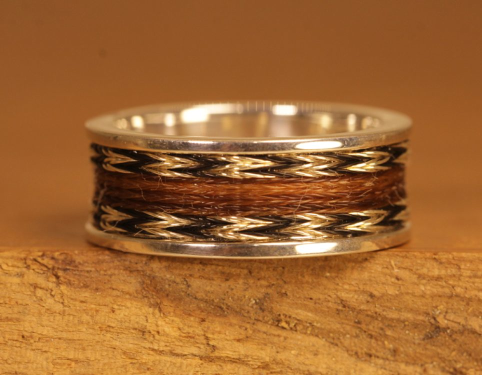 Horse hair jewelry 097