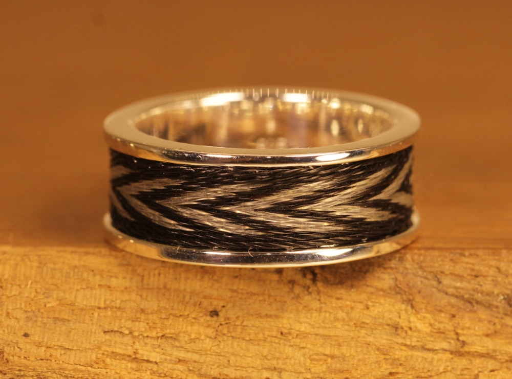 Horse hair jewelry 106