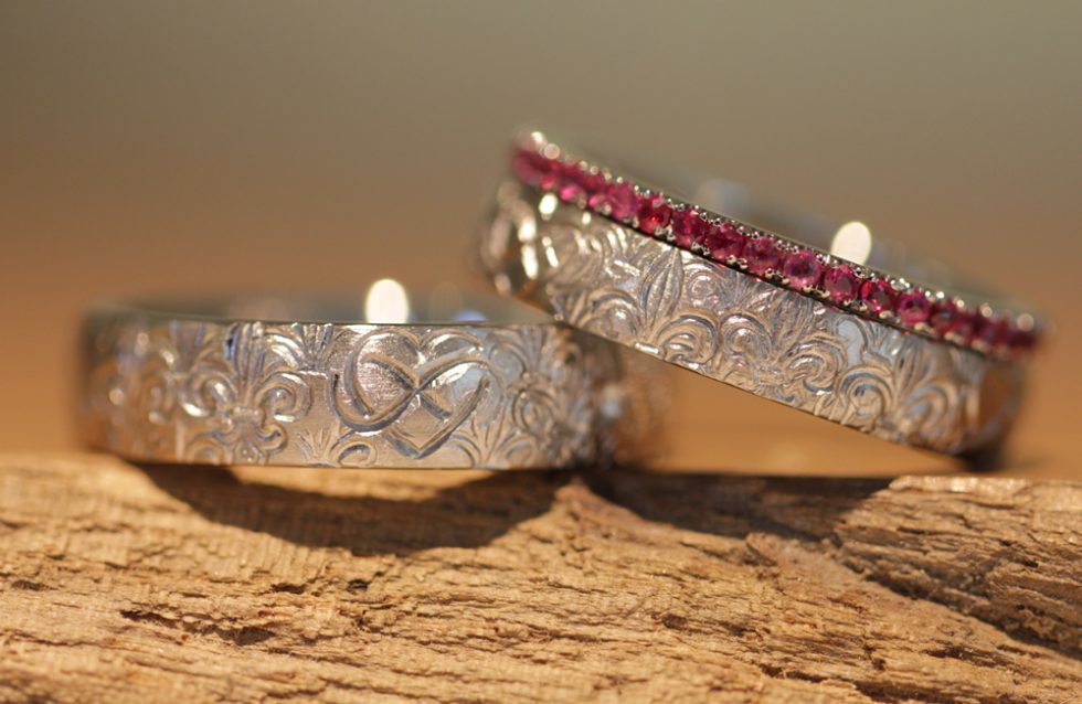 100 wedding rings