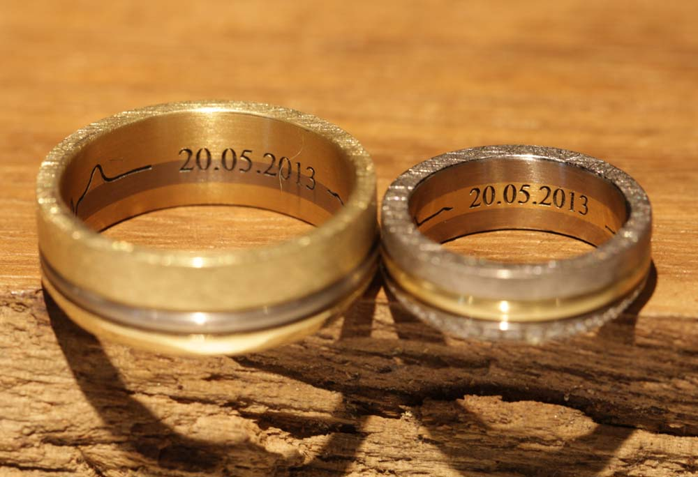 heartbeat line engraving wedding rings (1)