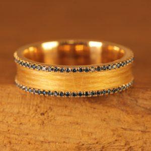 crine di cavallo-oro rosa-blu-diamante (1)