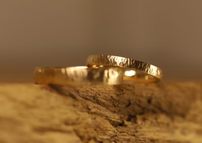Forged wedding rings (2)